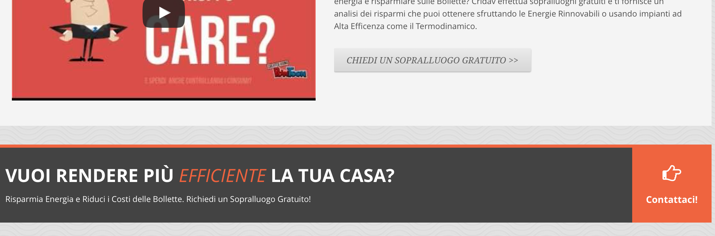 Esempio di Call to Action