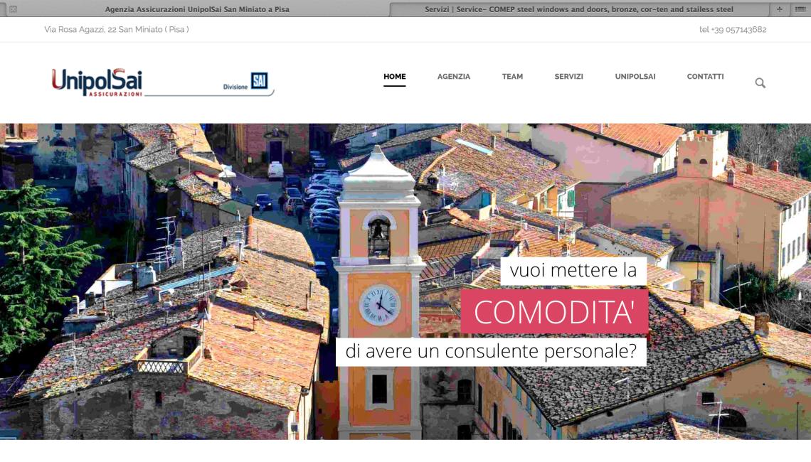Sito Web UnipolSai – Home