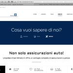 Sito Web UnipolSai - Pagina About