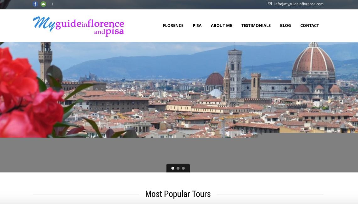 Sito Web per Guida Turistica Firenze