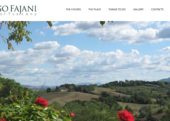 Sito Web per Agriturismo Borgo-Fajani